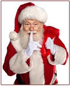 Shhh! Says Santa