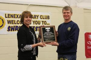 Lenexa Rotary Award