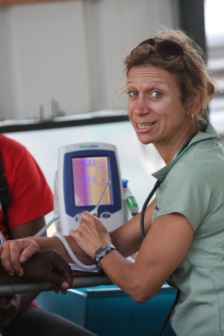 Sue in Haiti